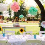 ¿Cómo decorar tu jardín para un cumpleaños?