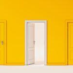¿Cómo decorar una puerta?