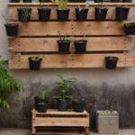 ¿Qué hacer con palets en un jardín?