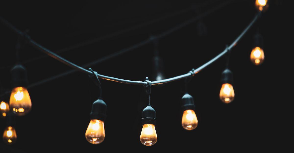 10 ideas de luces de cadena de bricolaje