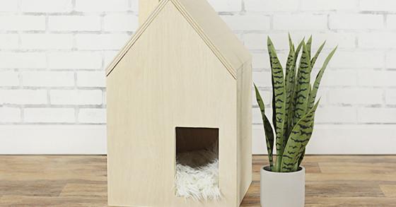 Cómo construir una casa para mascotas de bricolaje