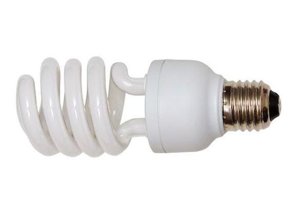 Luz fluorescente compacta
