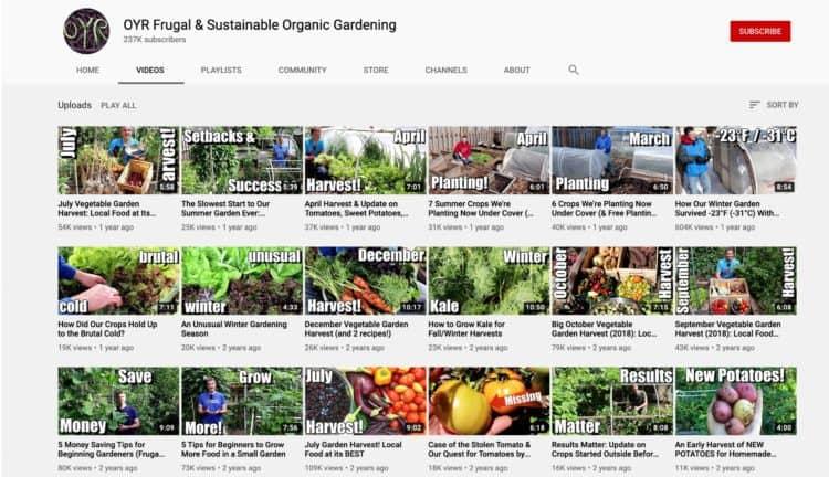 12 canales de YouTube que todo jardinero debe conocer