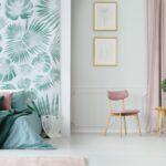 ¿Cómo revestir una habitación con 2 colores?