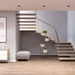 ¿De qué color para un pasillo con escaleras?