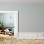 ¿De qué color para puertas con paredes grises?