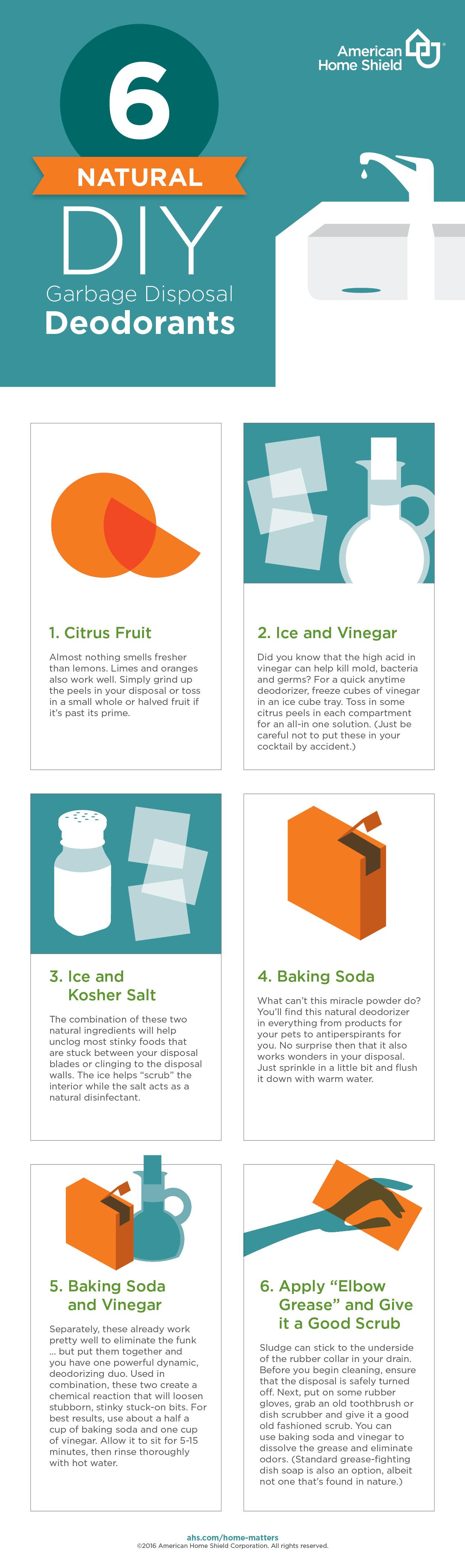 6 desodorantes naturales para la eliminación de basura casera