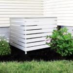 Cómo construir una cubierta de aire acondicionado para exteriores