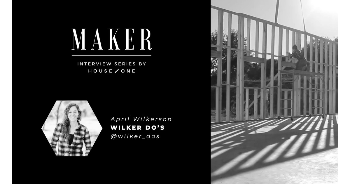 Entrevista al creador: April Wilkerson de Wilker Do's