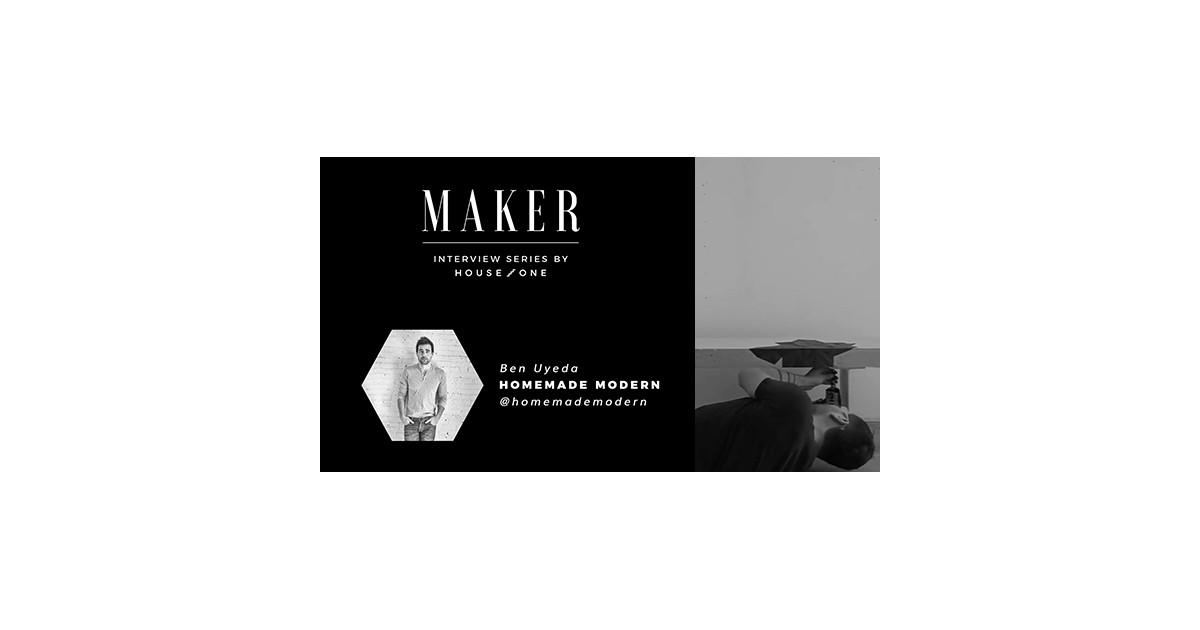 Entrevista al creador: Ben Uyeda de Homemade Modern