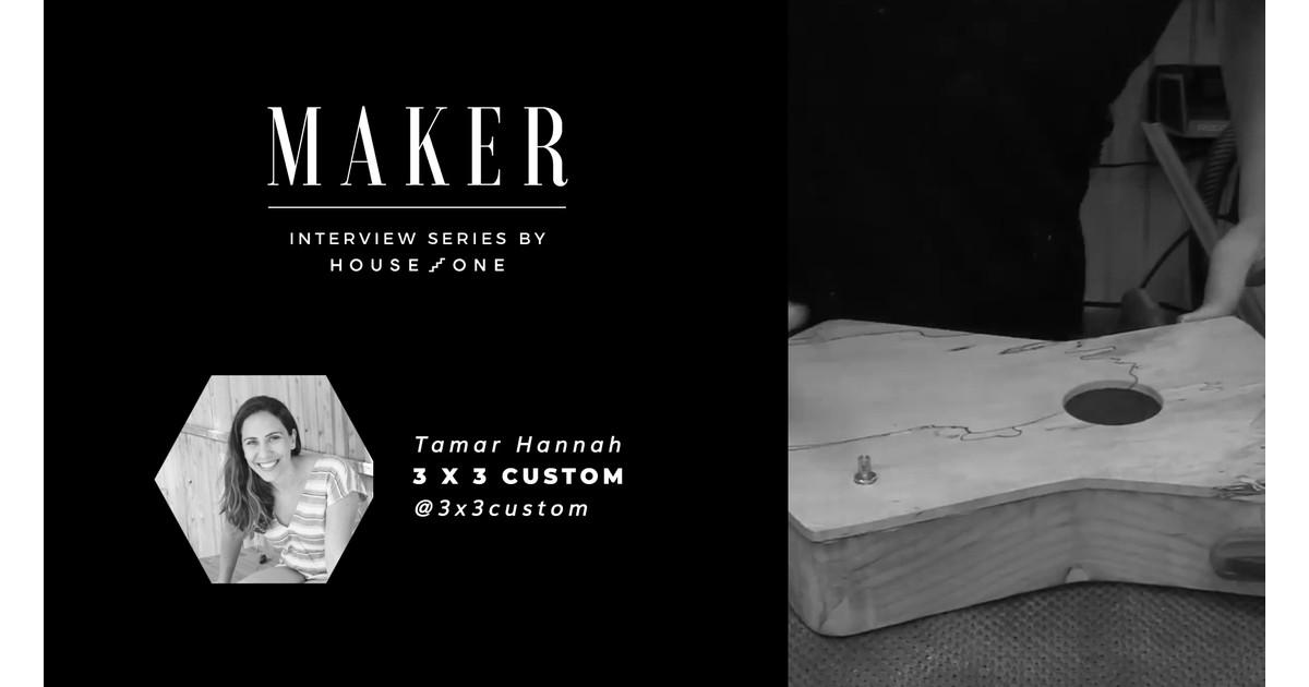 Entrevista al creador: Tamar Hannah de 3x3 Custom