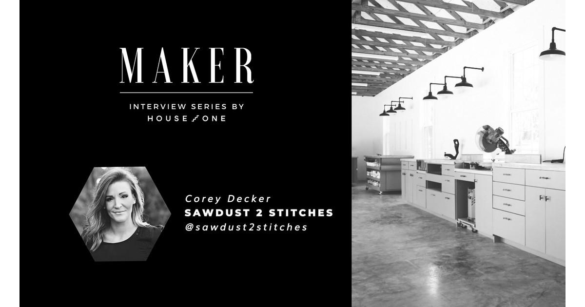 Entrevista al fabricante: Corey Decker de Sawdust 2 Stitches