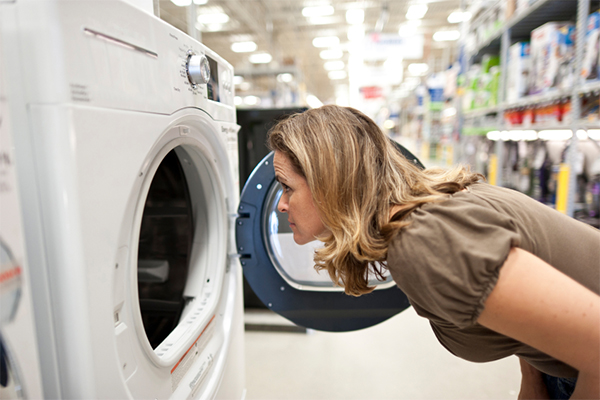 Guía para comprar electrodomésticos en una tienda outlet